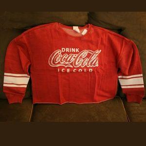 new w/tags Coca-Cola Juniors Sweatshirt XXL